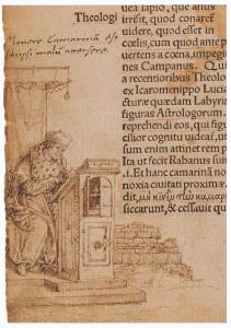 Hans Holbein d. J.: Randzeichnung zum Lob der Torheit, 1515 Quelle: Wikimedia Commons