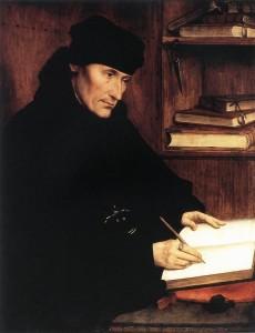 Quentin Massys: Erasmus von Rotterdam, 1517. Quelle: Wikimedia Commons